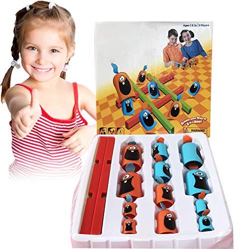 Hilai 1 Set Puzzle-Brettspiel-Cartoon-Huhn Lianliankan Spielzeug Spiel Parent-Child Interactive Spiel frühe pädagogische Ausbildung Werkzeug-Geschenk für Kleinkinder