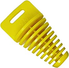 JCMOTO Muffler Tail Pipe Exhaust Silencer Wash Plug Bung For 2 and 4Stroke Motorcycle Dirt Bike 34-62mm (YELLOW)