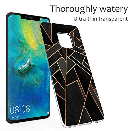 Croazhi Compatible with Hülle Huawei Mate 20 Pro Case Handyhülle para Huawei Mate 20/ Mate 20 Pro Silikon Crystal Tasche Cover TPU Schutzhülle Clear Transparent Backcover (6, Huawei Mate 20 Pro) - 3
