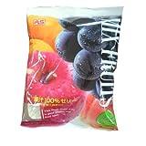 ASフーズ 果汁100%ゼリーミックス 袋25g×22
