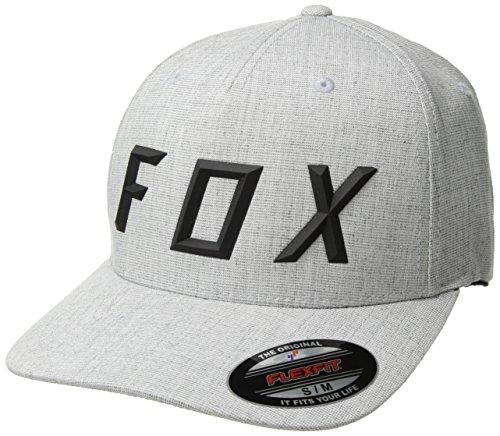 Fox Sonic Moth Flexfit Hat Heather Grey FIT L/XL 040