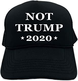 b3cb2a0a3ab1b Funny Trucker Hat (NOT Trump 2020 (Presidential Election) Unisex Adult Foam  Cap