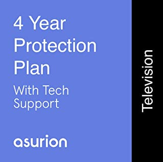 ASURION 4 Year Television Protection Plan with Tech Support $1500-1999.99