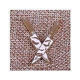 momoko hiroshi Knife Lapel pin Women Brooch Badge Enamel Pin
