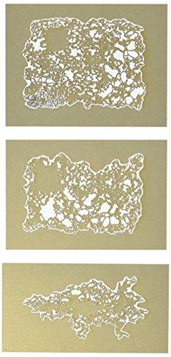 3 Mini stencils aerografo Artool 'Texture FX' Mini Series