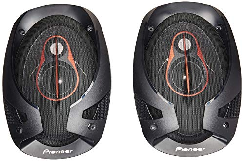 Pioneer TS-R6951S 3 Way Coaxial Speaker (Black)
