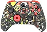 Designer Series Custom Wireless Controller for Series X/S & One - Multiple Designs Available (Scary Party & Red Chrome Inserts)