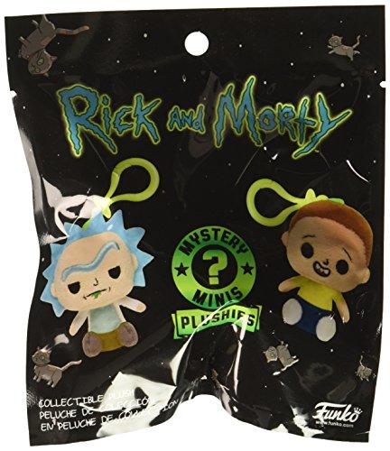 Funko Rick and Morty Geschenkidee, Schlüsselanhänger mit Klebemittel, Comics, Manga, TV, Mehrfarbig, 26847