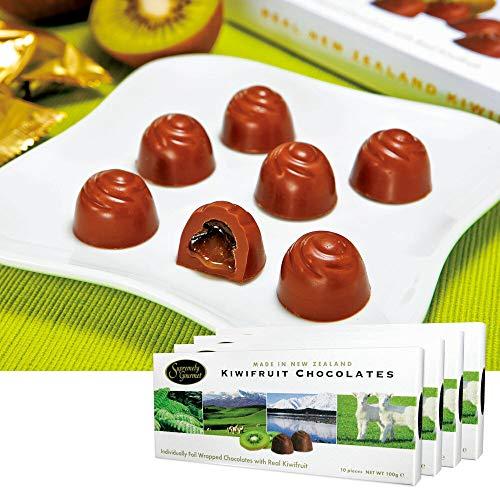 キウイフルーツ チョコレート 4箱セット【ニュージランド おみやげ(お土産) 輸入食品 スイーツ】
