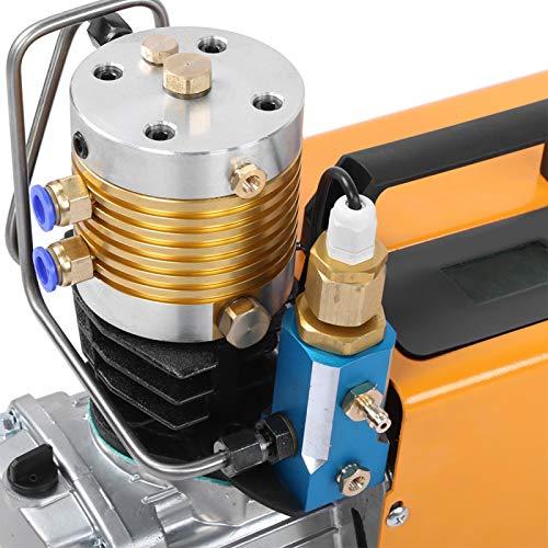 Bomba de Aire Bomba de compresor de Aire de Carga Grande de 30 MPa de Buen Rendimiento para Sistema de presión de Aire(220V European Standard, Pink)