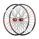 Rueda de bicicleta MTB juego de ruedas de bicicleta 26 27.5 29 pulgadas llanta de aleación ligera de doble pared 18.5 mm buje de cassette rodamiento sellado freno de disco QR 7-11 velocidad 1920g 32H