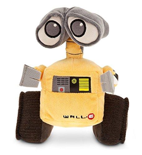 DS Disney Store Wall-e Peluche 22 cm original Pixar Robot Eve Walle Nuevo