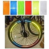 MXBIN Fluorescente Bike Adesivo Riflettente di Ciclismo su Strada del Motociclo Rotella del Pneumatico dell'automobile Striscia di Biciclette Strumento di Riparazione delle Parti accessorie