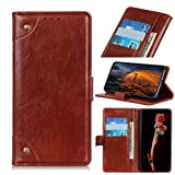 SHIEID Wallet Case for Nokia 2.4 Case Genuine Leather Flip