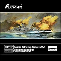 フライホークモデル 1/700 独海軍 戦艦 ちょうかい 1943 プラモデル