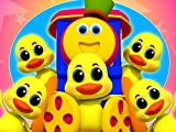 Five Little Ducks | Videos For Toddlers
