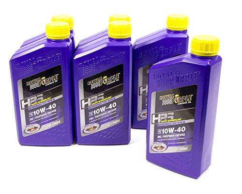 Royal Purple HPS 10W40 Motor Oil 1 qt Case of 6 P/N 36140