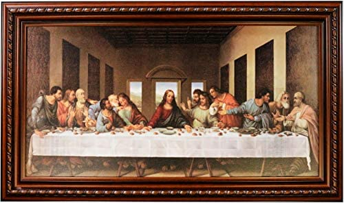 Mom s Art Studio Last Supper Wall Decor 45 X 26 5 Inches Leonardo Da Vinci Reproductions Museum product image