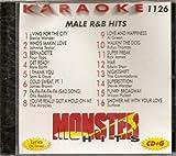 Monster #1126 Karaoke CDG MALE R&B OLDIES HITS