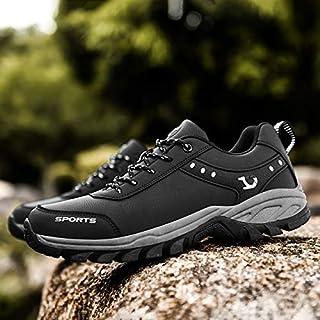 أحذية كاجوال للرجال - أحذية كاجوال للتسلق غير قابلة للانزلاق أحذية رياضية في الهواء الطلق للرجال أحذية رياضية مضادة للماء ...