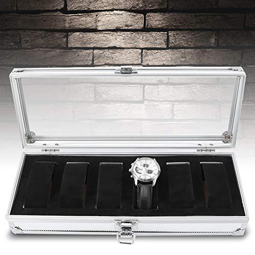 Aeloa 1Pc 6/12 Horloge Sieraden Display Ambachten Organizer Opbergdoos voor Washi Tape, Kunstbenodigdheden en Sticker Opslag Organizer Box