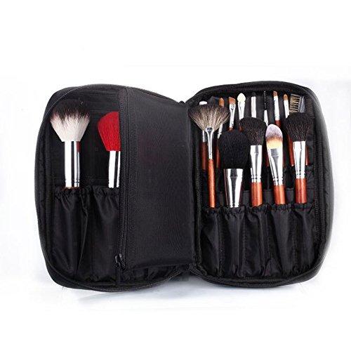 multi-usage Sac de brosse de maquillage, portable de voyage maquillage cosmétique Sac étanche Cosmétique Organiseur kit Maquillage Artist de rangement pour produits cosmétiques