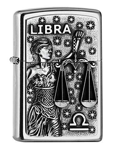 Imagen del productoZippo PL 207 Libra Tierkr. V19 Encendedor, latón, Design, 5,83,81,2