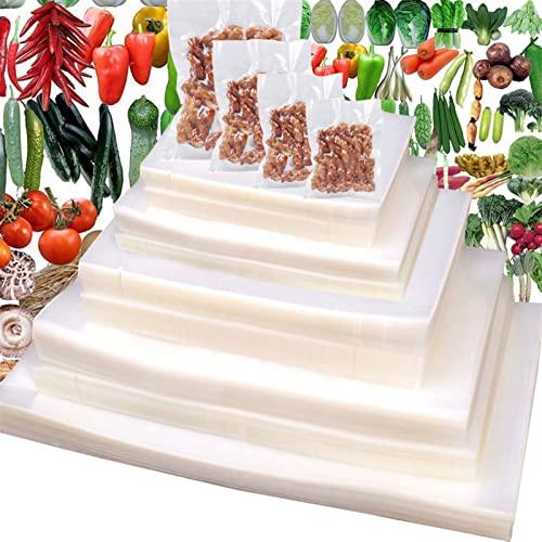 Bolsas de Vacio para Alimentos, 100 piezas Bolsas de Vacío de Alimentos, BPA Free, Bolsas de Vacio Gofradas para Conservación de Alimentos y Sous Vide Cocina & Boilable (Size : 20x30cm)