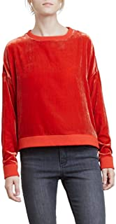 Best red velvet sweatshirt Reviews