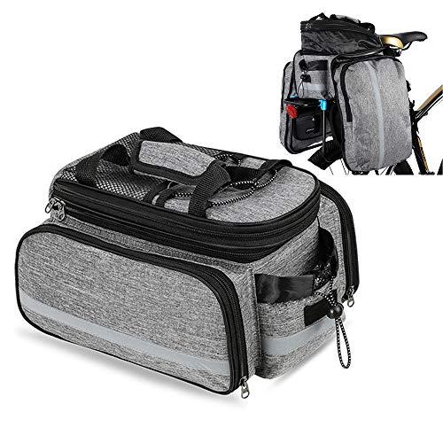 N / A Fahrradträgertasche Fahrradtasche Gepäckträger Fahrradtasche Rucksack Fahrradtasche Kofferraumtasche Serie, für Reisen, Fahrradzubehör