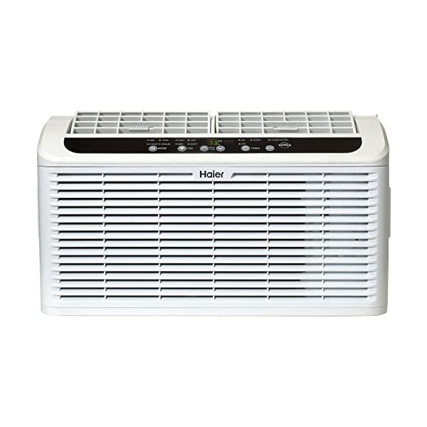 Haier ESAQ406T 22″ Window Air Conditioner Serenity Series with 6,000 BTU 115V...