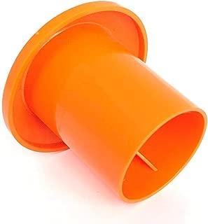 MYCS Rebar Mushroom Cap (250 Pack) - Rebar Size: #3-#7, 10M-25M, Safety Orange