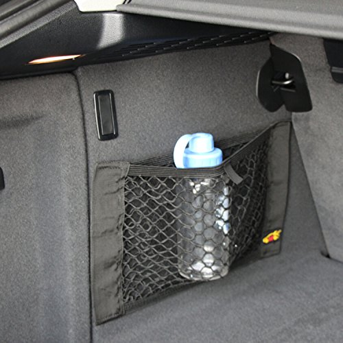 9 MOON Car Boot Cargo Net Magic Sticker Luggage Mesh Oganizer Bag Cargo Net for Honda Accord Civic CR-V CR-Z Crosstour Fit Odyssey Pilot Element