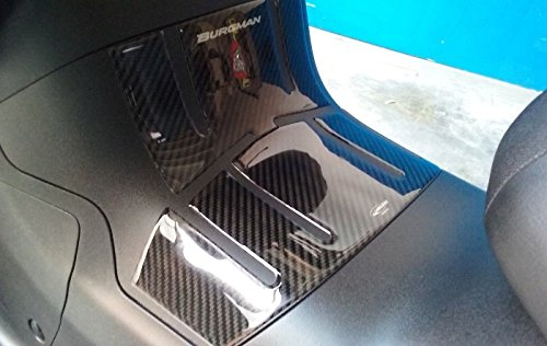 ADESIVO 3D PROTEZIONE PEDANA compatibile per scooter SUZUKI BURGMAN 650 2013-2019
