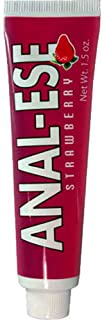 Nasstoys Anal Ese Anal Lubricant, Strawberry, 1.5 Ounce