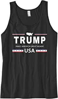 Men's Trump Make America Great Again USA Tank Top