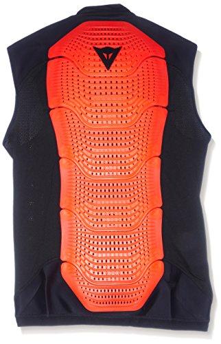 Dainese Protektorweste Ski Gilet Manis 13, Black/Fluo-Red, S, 4879915_628_S