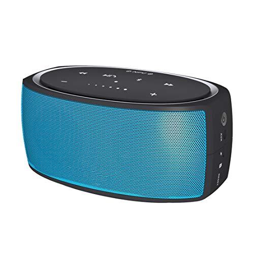 HIOD Y210 Bocina Bluetooth Portátil Toque Controlar Altavoz Inalámbrico NFC,Blue