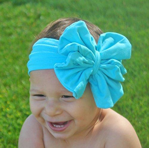 Petite Bow Turban Girl Bow Dark Heather Pink Floppy Bow Head Wrap Messy Bow Headband Knot Big Bow Baby Headband Baby Bow Clips