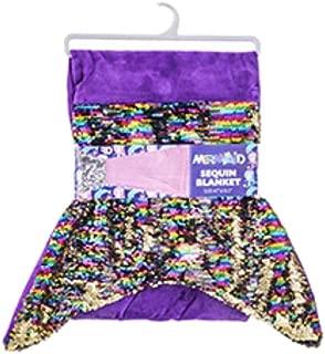 Royal Deluxe Mermaid Sequin Blanket - 47