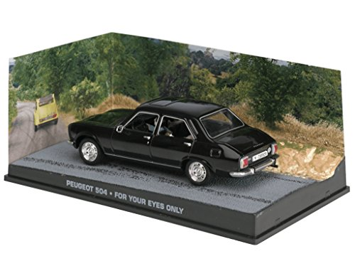 Eaglemoss 007 James Bond Car Collection Nº 83 Peugeot 504 (