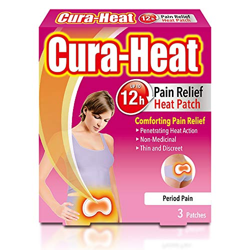Cura-Heat Period Pain Patches