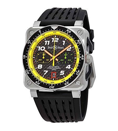 Bell and Ross BR0394-RS19/SRB - Reloj cronógrafo para hombre