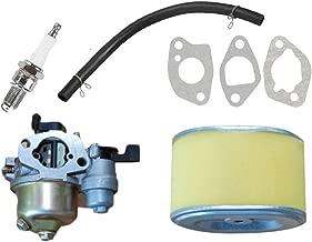 For HONDA GX110 GX120 4HP Carburetor kit GX160 5.5HP GX200 6.5HP Air filter Rubber fuel hose Engine Convenient
