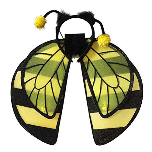 3pcs Bee Cosplay Costume