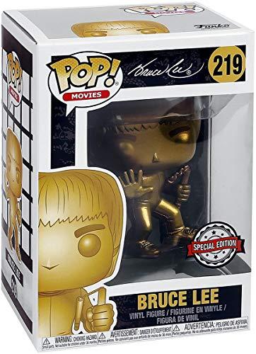 Pop! Bruce Lee - Figura de Vinilo Bruce Lee (Gold) Exclusive