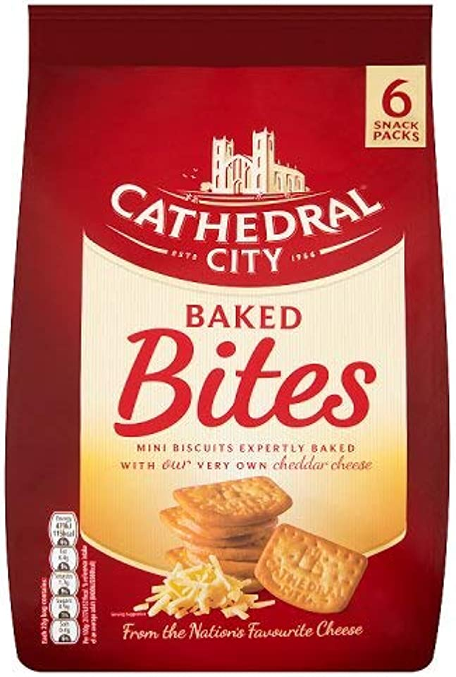 Cathedral City Baked Bites, Pack of 6