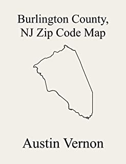 Burlington County, New Jersey Zip Code Map: Includes Chesterfield, Bass River, Bordentown, Burlington, Cinnaminson, Hainesport, Lumberton, Maple Shade, ... Medford Lakes, Mount Laurel, Pemberton,