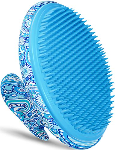 Exfoliating Brush, Ingrown Hair and Razor Bumps Treatment for Women, Keratosis Pilaris KP Body Exfoliator Brush for Bikini, Legs, Arms - Anti-Slip Solution by Dylonic