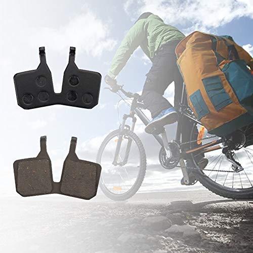pnxq88 2 Pares de Pastillas de Freno Tipo Disco, Pastillas de Freno de Bicicleta de montaña Antideslizantes de Resina para Magura MT5 MT7